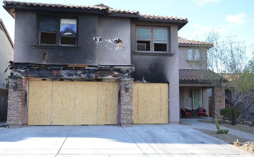 I just discovered my property was damaged in Tinder Fire, what do I do?