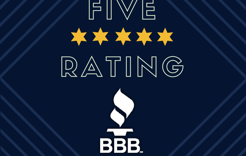 Another 5 ***** Better Business Bureau Review